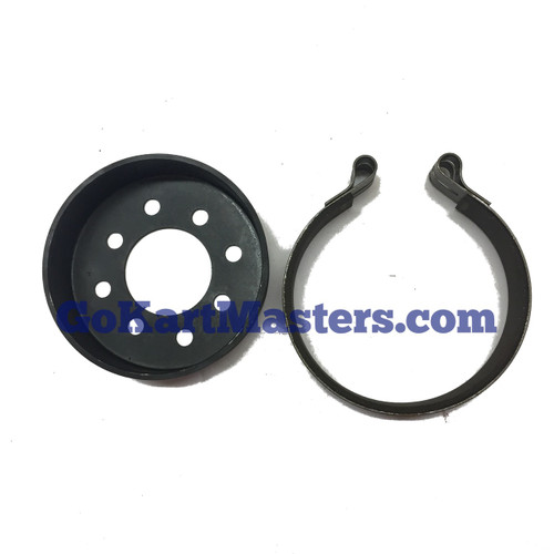 "Carter GoKart 5"" Brake Drum & Brake Band Kit"