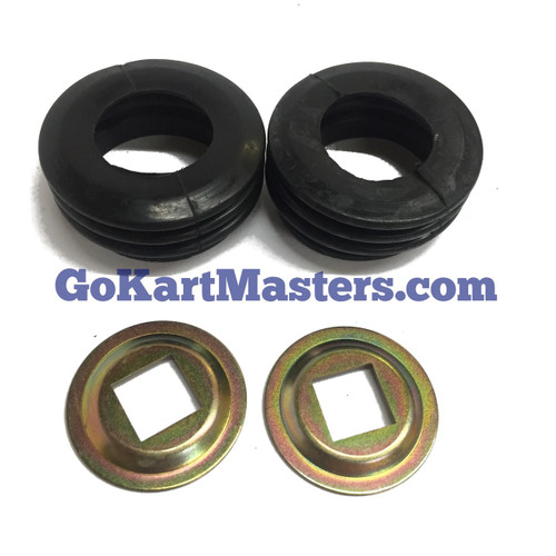 TrailMaster Spindle Washer And Boot Kit-150 & 300 Go Kart