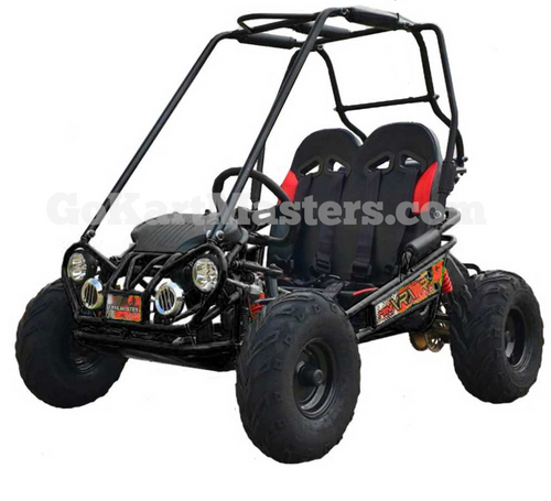 TrailMaster Mini XRX/R+ Go Kart - Black