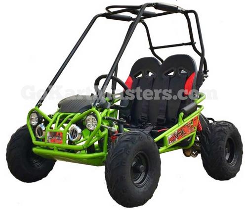 TrailMaster Mini XRX/R+ Go Kart - Green