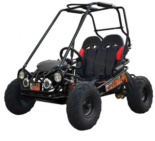 TrailMaster Mini XRX+ Go Kart - Ships FREE!!! - Black