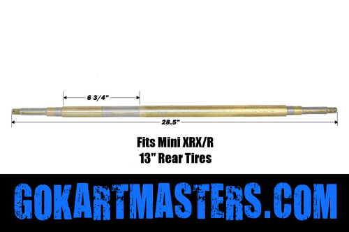 TrailMaster Mini XRX-R Rear Axle