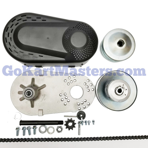 Mini Bike Torque Converter Kit w/ 4' #420 Chain