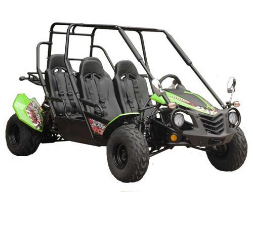 TrailMaster Blazer4 150X Go Kart - Green