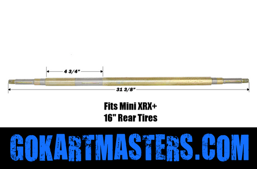 TrailMaster Mini XRX Plus Rear Axle w/ No Reverse