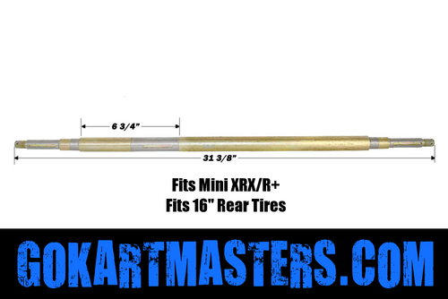 TrailMaster Mini XRX-R+ Plus Rear Axle w/ Reverse