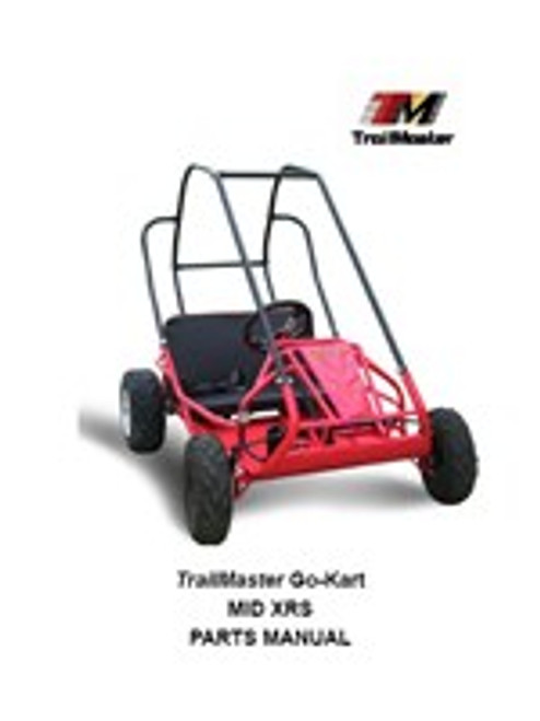 TrailMaster Mid XRS Go-Kart Parts Manual