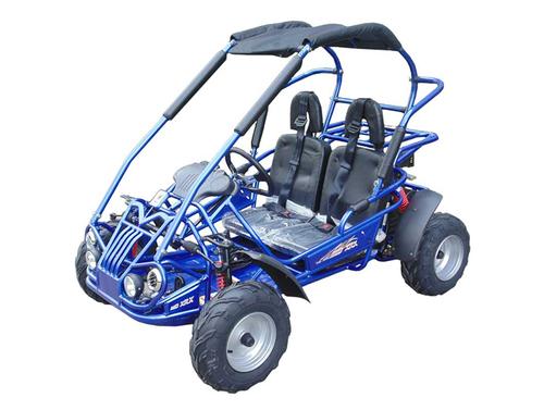 TrailMaster Mid XRX Go-Kart - Blue