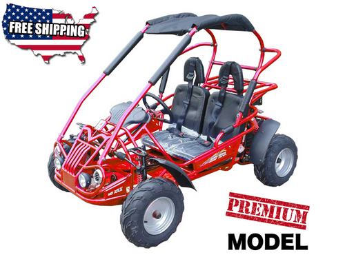 TrailMaster Mid XRX Go-Kart - Red