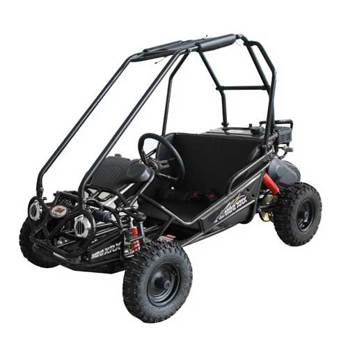 TrailMaster Mini XRS Go-Kart - Black