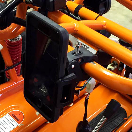 Cell Phone/GPS Holder - Tube Mount
