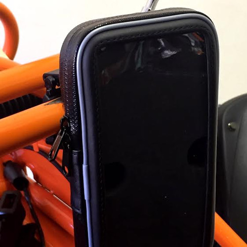 Waterproof Cell Phone Case - Deluxe - Fits TrailMaster Go Karts