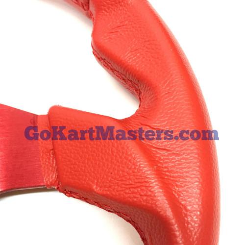 TrailMaster 150 XRX Sport Steering Wheel - Red