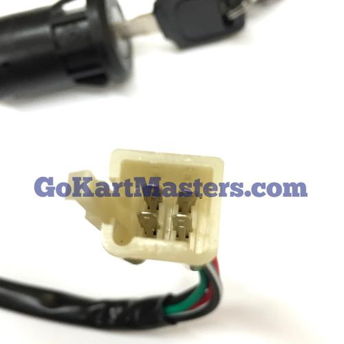 Hammerhead Mudhead Go-Kart Key Switch