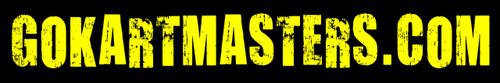 "GoKartMasters.com Sticker 1"" x 6"" Decal"