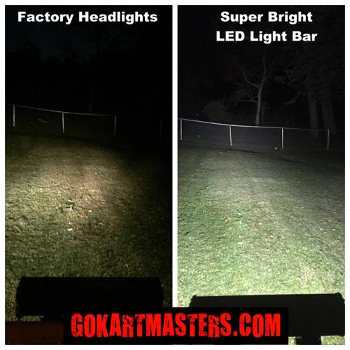 TrailMaster Mid XRX & Mid XRX-R Go-Kart Super Bright LED Lower Light Bar