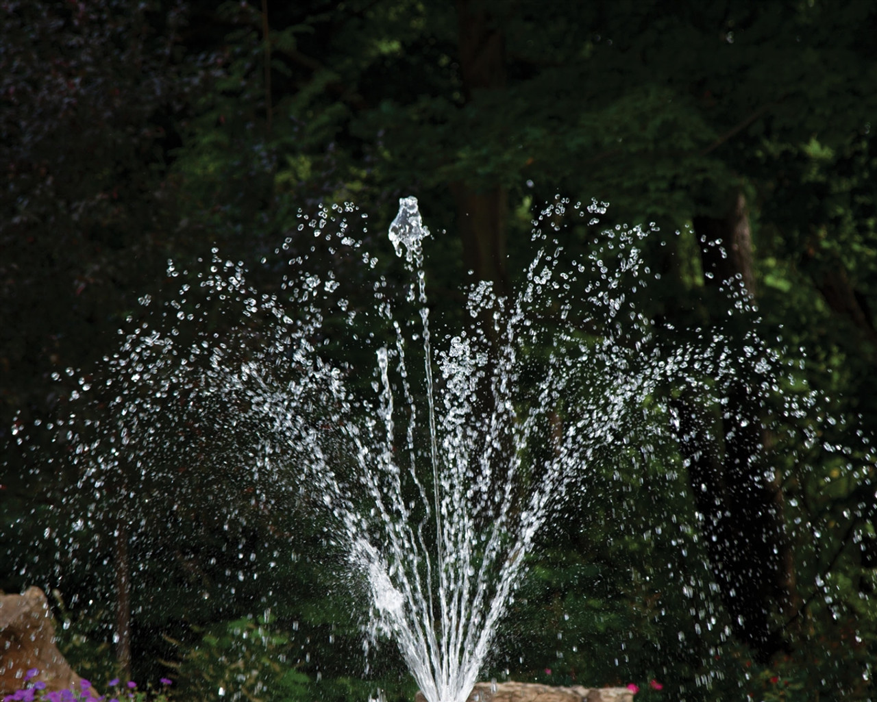 Arching Spray Fountain Nozzle