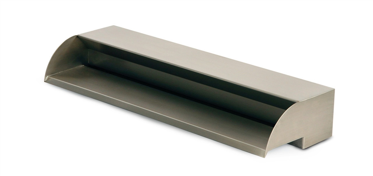 """Stainless Steel Spillway - 24"""" Wide"""