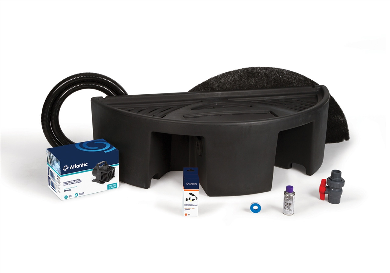 """Basin and Pump Kit for 36"""" Spillways"""