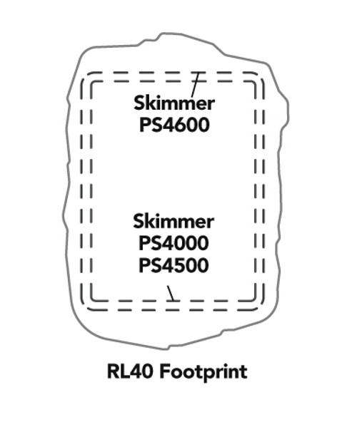 RL40 Faux Stone for Atlantic Skimmer Great Lakes