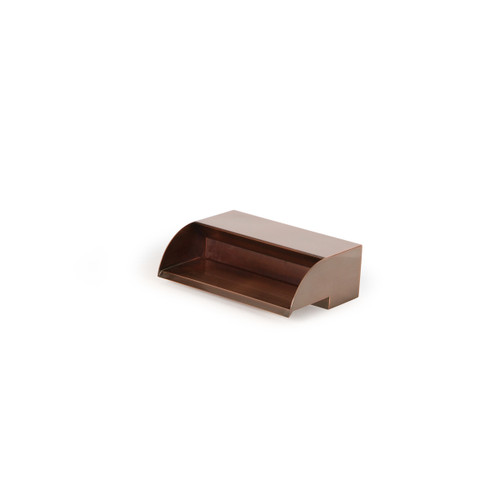 """Copper Finish Spillway - 12"""" Wide"""