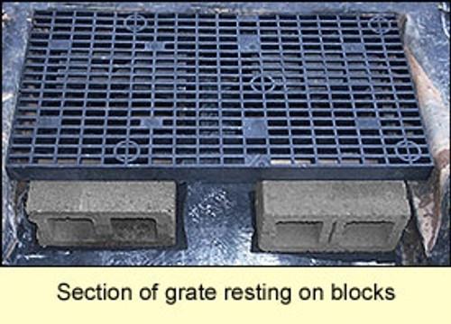 2x4 Plastic Grates