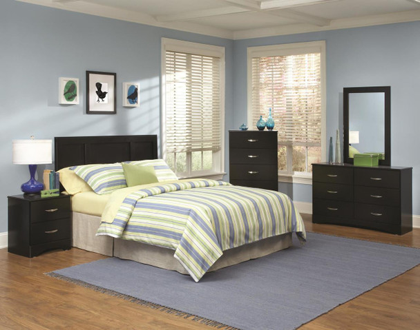 JACOB BLACK GLOSS BEDROOM