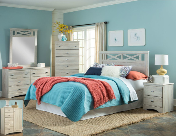 CHARLESTON FULL/QUEEN BEDROOM SET