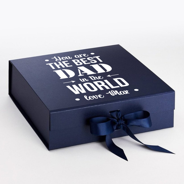 Personalised Best Dad In The World Father's Day Gift Box