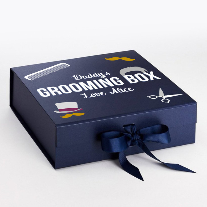 Personalised Daddy's Grooming Box, Father's Day Gift