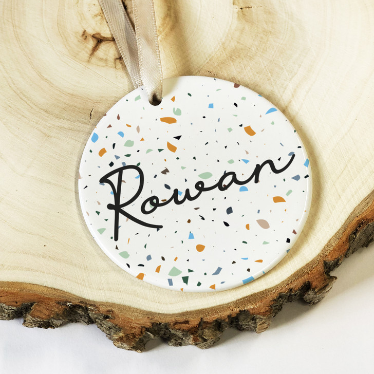 Personalised Ceramic Keepsake Birthday Gift For HIM, Anniversary or Valentine's Day Name Gift