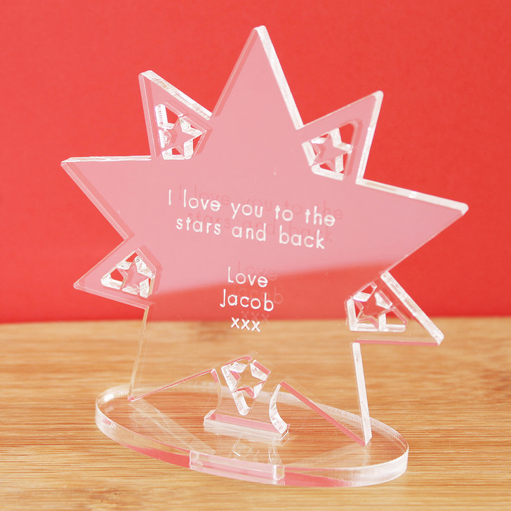 Love You To The Stars And Back | Personalised Keepsake Gift