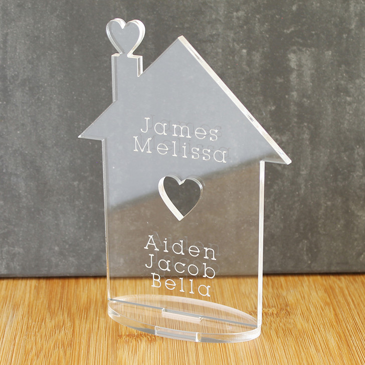 Family Home Ornament | Personalised Keepsake