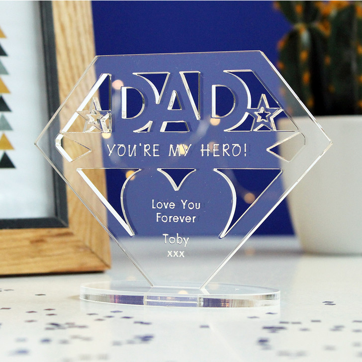 Mum/Dad You're My Hero! | Personalised Keepsake