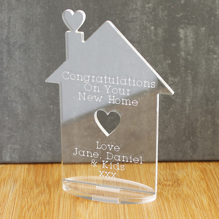 Family New Home Ornament | Personalised Keepsake Gift