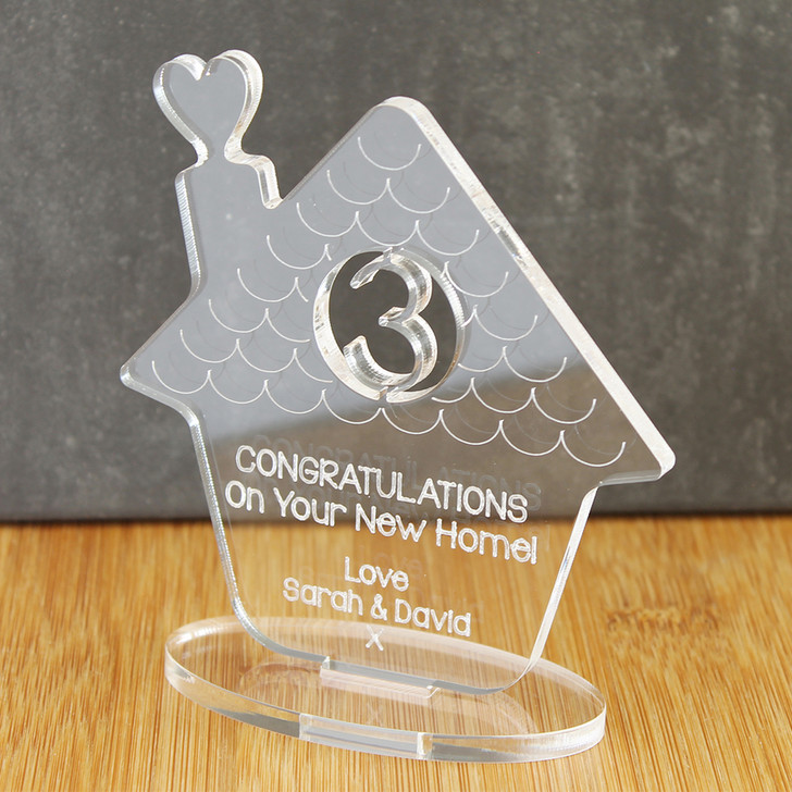 New Home Family Ornament | Personalised Keepsake Gift