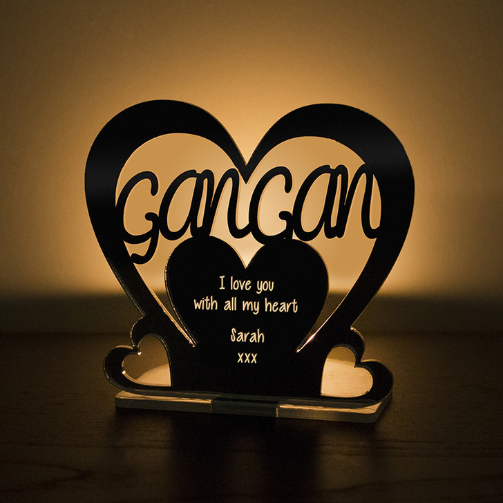 Personalised Tealight Candle Holder For GANGAN