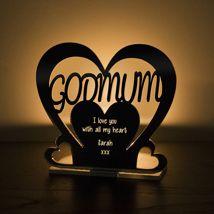 Personalised Tealight Candle Holder For GODMUM