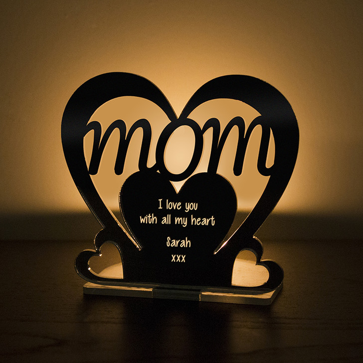 Personalised Tealight Candle Holder For MOM