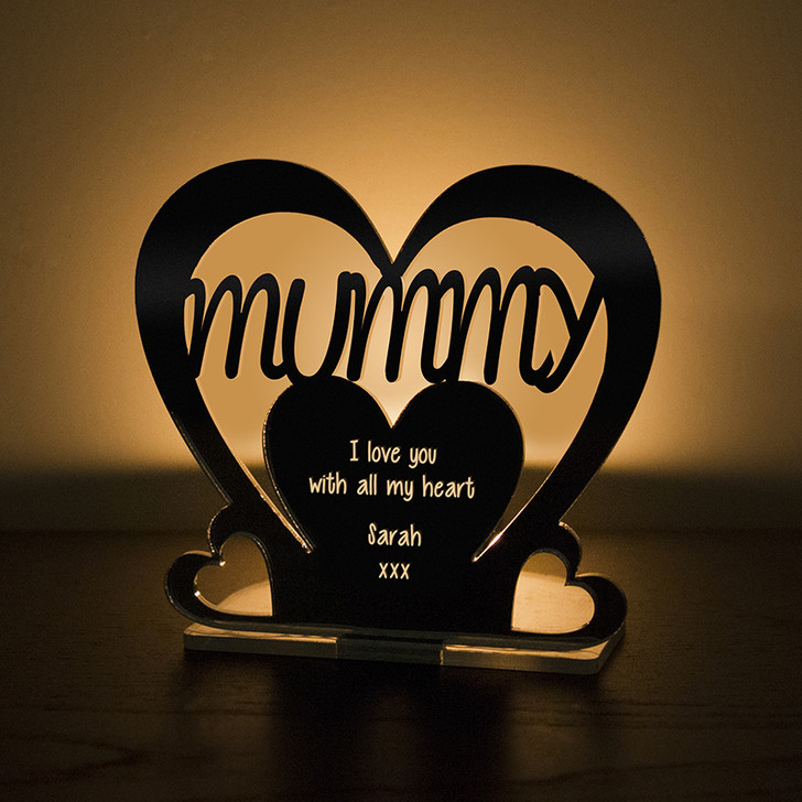 Personalised Tealight Candle Holder For MUMMY