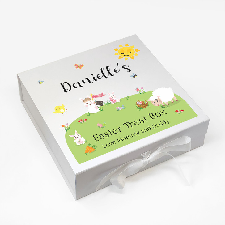 Easter Egg Treat Gift Box For Kids...Personalised with Any Name and Message