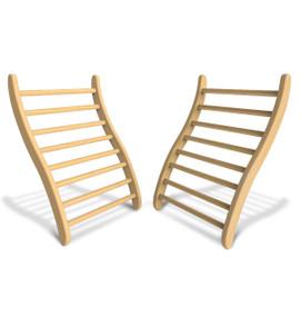 S - Shaped Backrest (Set of Two)