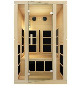 Tosi™ 2 Person Full Spectrum Infrared Sauna