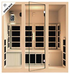 Ensi™ 4 Person Ultra-Low EMF Far Infrared Sauna (Open-Box)