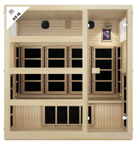 Tosi™ 4 Person Full Spectrum Infrared Sauna (As-Is)