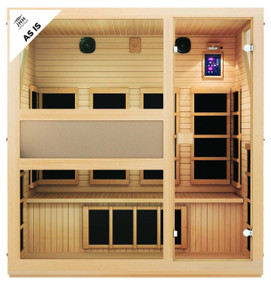 Ensi™ 4 Person Ultra-Low EMF Far Infrared Sauna (As-Is)
