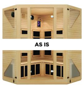 Ensi™ Corner Ultra-Low EMF Far Infrared Sauna (As-Is)