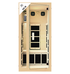 Ensi™ 1 Person Ultra-Low EMF Far Infrared Sauna (As-Is)