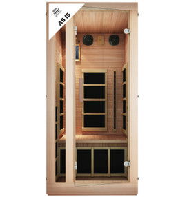 Tosi Red™ 1 Person Full Spectrum Infrared Sauna (Red Cedar, As-Is)