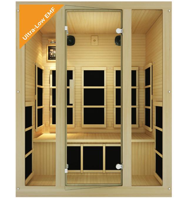 Ensi™ 3 Person Ultra-Low EMF Far Infrared Sauna